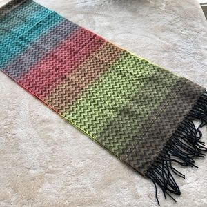 D&Y Softer Than Cashmere Multicolor Scarf